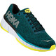 Hoka One One Cavu Running Shoes Men black/teal